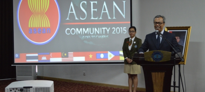 Socialization Toward ASEAN Community 2015