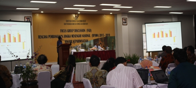 Focus Group Discussion (FGD) about the Draft of Medium-Term Development Plan 2015-2019 in Tourism Sector